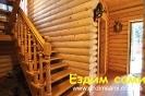 База отдыха «Богдан». Первый этаж прихожая гостиная